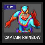 Super Smash Bros. Strife Assist box - Captain Rainbow