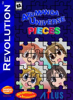 Azumanga Universe Pieces Box Art (Re-Release) 1