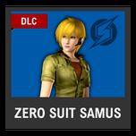 Super Smash Bros. Strife character box - Zero Suit Samus MOM