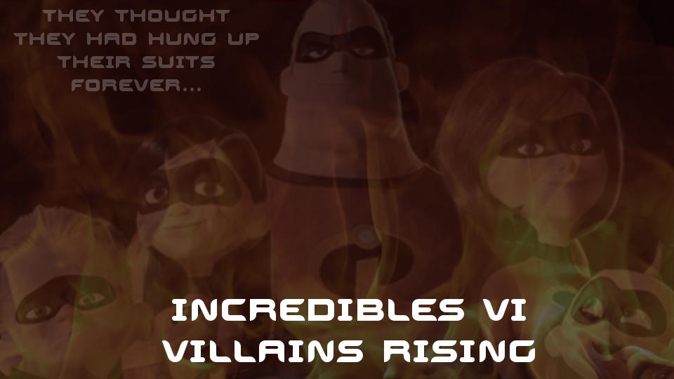 Incredibles 6 Poster