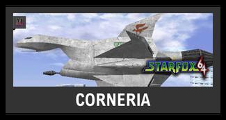 Super Smash Bros. Strife stage box - Corneria