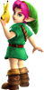 Super Smash Bros. Strife recolour - Young Link 6