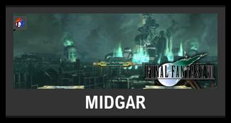 Super Smash Bros. Strife stage box - Midgar
