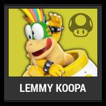 Super Smash Bros. Strife character box - Lemmy Koopa