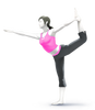 Super Smash Bros. Strife recolour - Wii Fit Trainer 3