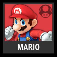 Super Smash Bros. Strife character box - Mario