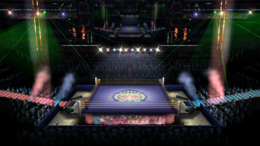 Boxing Ring - Punch Out - SSB4
