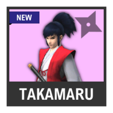 Super Smash Bros. Strife character box - Takamaru