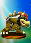 Bowser Trophy (Smash) melee