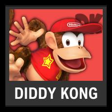 Super Smash Bros. Strife character box - Diddy Kong