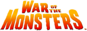 War of the monsters logo hd by mechanicorga-d9sbfvp