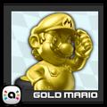 ACL Mario Kart 9 character box - Gold Mario