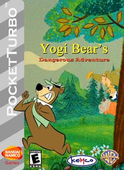 Yogi Bear's Dangerous Adventure Box Art