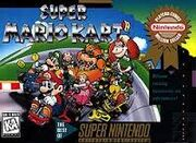 Super Mario Kart box cover