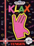 Klax Mega Drive portada EEUU