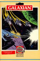 Galaxian Commodore 64 alt portada