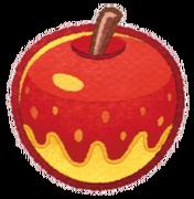 Kirby Mass Attack - Manzana