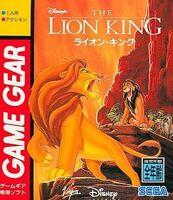 The Lion King portada GameGear Jap