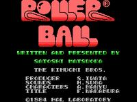 Rollerball TÍTULO MSX