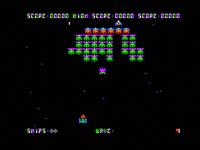 Galaxian Apple II