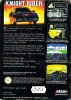 Knight Rider NES reverso EUR