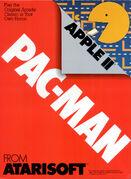 Pac-Man portada Apple II