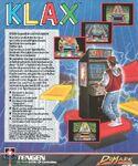 Klax Atari ST reverso