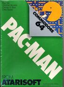 Pac-Man portada Commodore 64