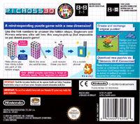 Picross 3D - portada EUR BACK