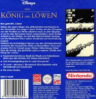 The Lion King portada GB EUR Disney Classic b