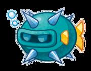 Kirby Mass Attack arte - Stickle