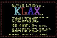 Klax C64 captura1