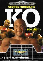 George Foreman's KO Boxing MD portada