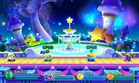 Kirby Fighters Deluxe - Fountain of Dreams
