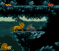 The Lion King SNES Captura 17