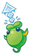 Kirby Mass Attack arte - Globglob