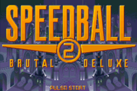 Speedball 2 título GBA