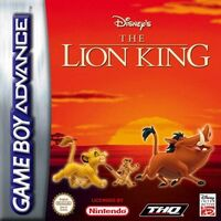 The Lion King GBA eur portada