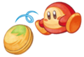 Kirby Mass Attack Arte - Waddle Dee Coco