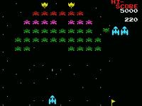 Galaxian MSX version