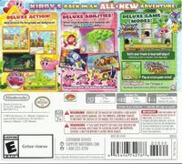 Kirby Triple Deluxe - Cover USA back