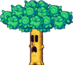 Kirby Mass Attack - Floaty Woods