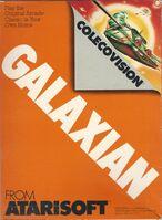 Galaxian ColecoVision portada