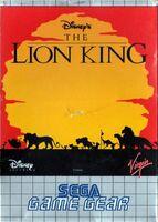The Lion King portada GameGear Eur