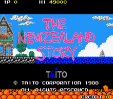The New Zealand Story Arcade título