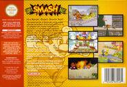Super Smash Bros. - Portada USA BACK