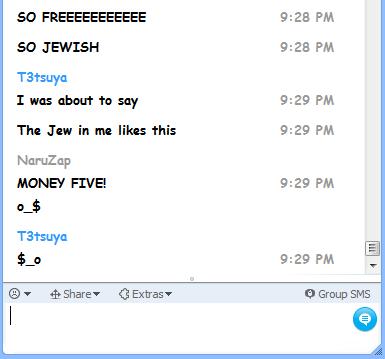 Money five on skype