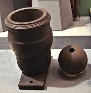 Boshin War mortar