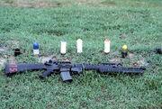 M16 M203 40mm ammunition