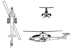 Bell AH-1F SUPER COBRA